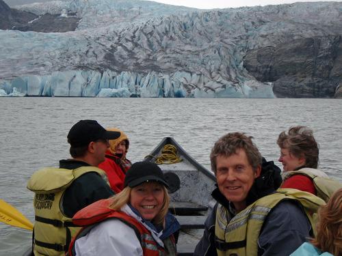 Mendenhall Glacier, Tim