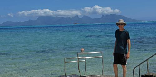 Moorea from Tahiti, Tim