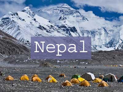 Nepal Title Page