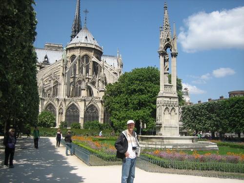Notre Dame, Paris, Tim