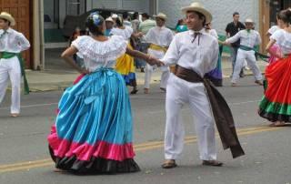 Ox Cart Parade Dance, San Jose, Costa Rica Tour