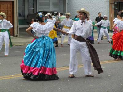 Ox Cart Parade Dance, San Jose, Costa Rica Tour