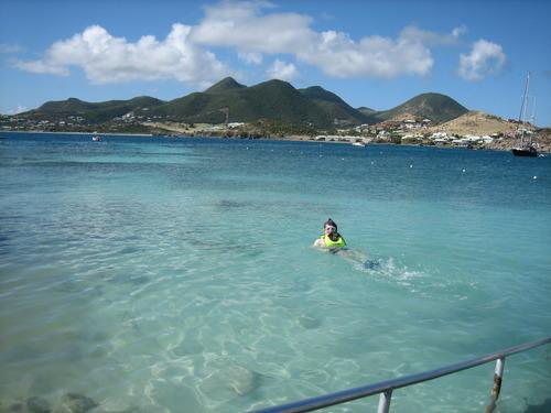 Pinel Island, St Maarten, Tim