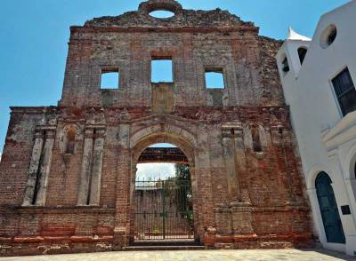 Santo Domingo Church Ruins, Casco Viejo, Visit Panama City