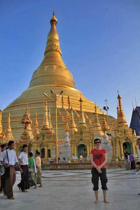 Shwedagon, Yangon, Myanmar, Tracie