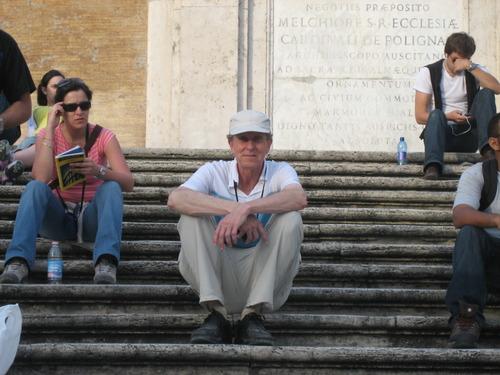 Spanish Steps, Rome, Tim