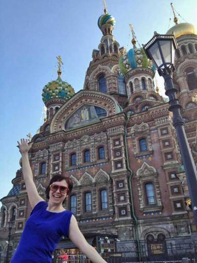 Church of Spilled Blood, St Petersburg, Russia, Tracie