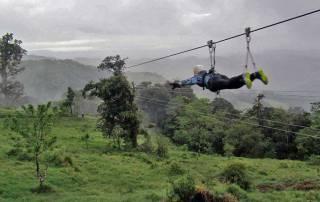 Superman Option, Extremo Zip Line, Monteverde, Costa Rica Tour
