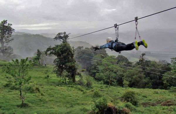 Superman Option, Extremo Zip Line, Monteverde, Costa Rica Tour