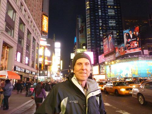Times Square, New York, Tim