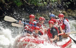 Toro River Rafting, La Fortuna, Costa Rica Tour