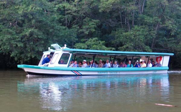 Tortuguero Canals Cruise Boat, Puerto Limon Shore Excursion