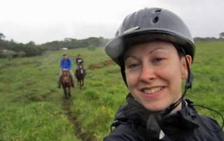 Tracie, Monteverde Horseback Riding, Costa Rica Tour