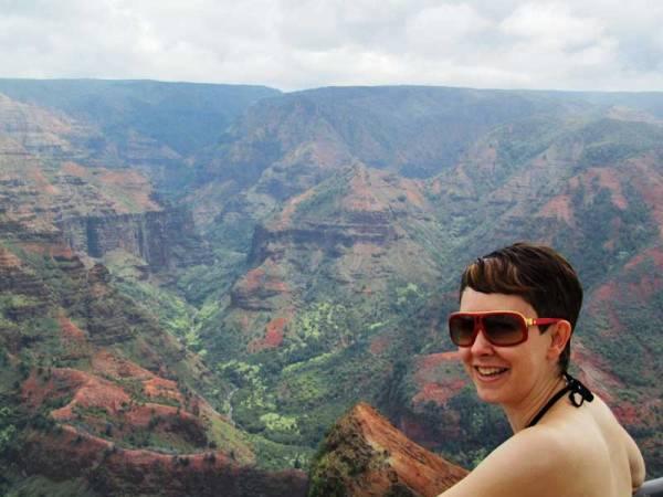 Waimea Canyon, Hawaii, Tracie