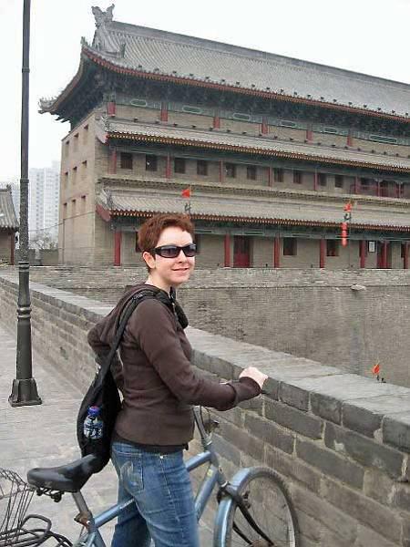 Xian City Wall, China, Tracie