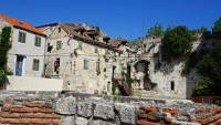 Apartments in Diocletian's Palace, Roman Ruin,Split, Croatia