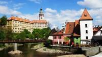 Cesky Krumlov Castle, Vltava River, Touring Prague