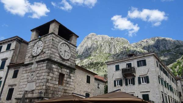 Clock Tower, Old Town Kotor, Montenegro