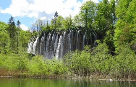 Galovacki Waterfall, Plitvice Lakes, Croatia