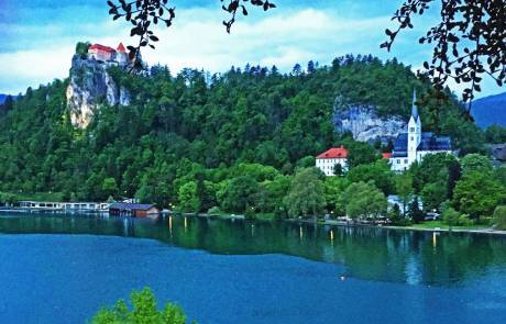 Lake Bled from Hotel Park