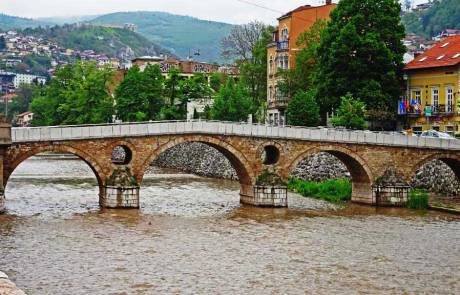 Latin Bridge, Start of World War I, Sarajevo, Touring Bosnia & Herzegovina