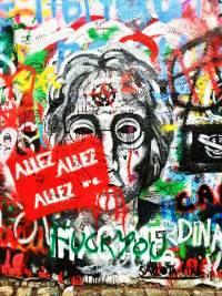 Lennon Wall, Touring Prague