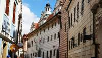 Old Town Streets Cesky Krumlov, Touring Prague