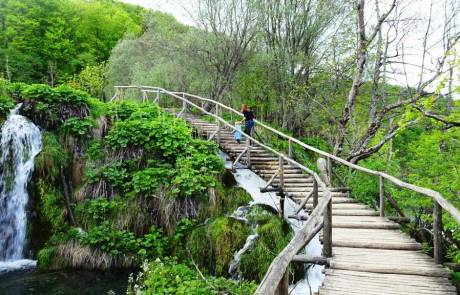Plitvice Lakes Wood Trail