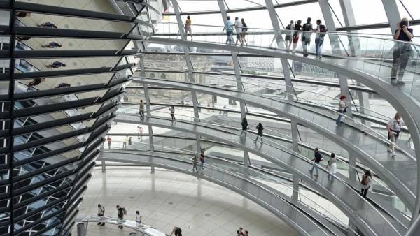 Reichstag, Touring Berlin