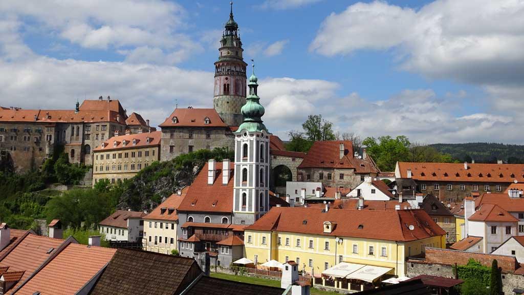St Jost Church & Cesky Krumlov Castle Tower, Touring Prague
