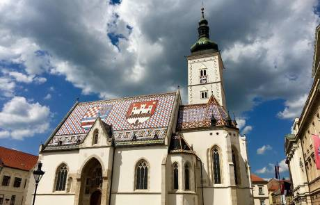 St Mark's Church, Upper Town, Zagreb