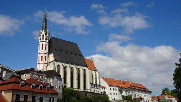 St Vitus Church, Cesky Krumlov, Touring Prague