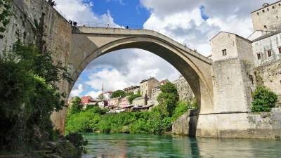 Stari Most, Mostar Bridge, Touring Bosnia & Herzegovina