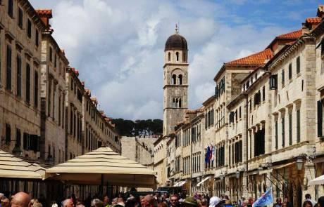 Stradun Pedestrian Walk, Dubrovnik