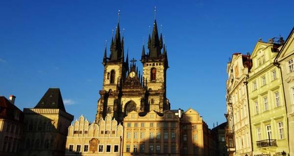 Tyn Church at Sunset, Touring Prague