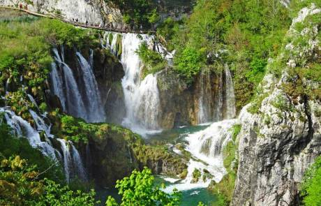 Veliki Waterfall Trail, Plitvice Lakes, Croatia