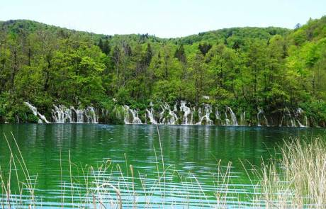 Waterfalls, Plitvice Lakes