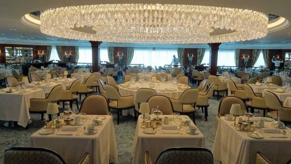 Grand Dining Room, Oceania Regatta Review