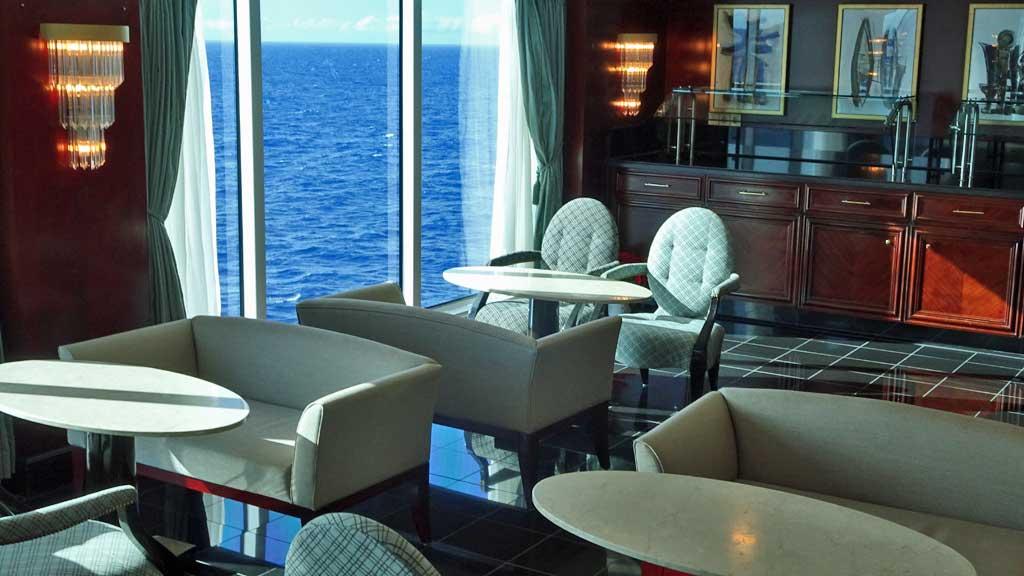 Horizons Lounge, Oceania Regatta Review