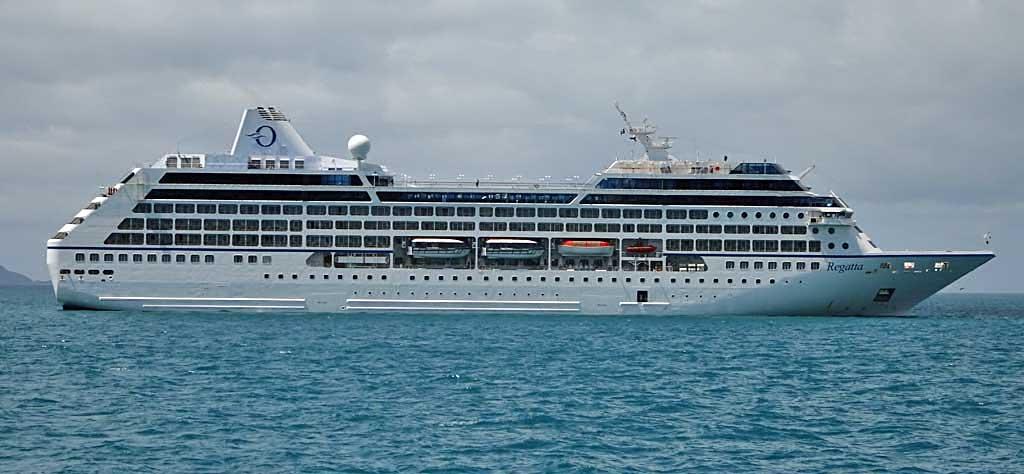 Oceania Regatta Review, Airlie Beach