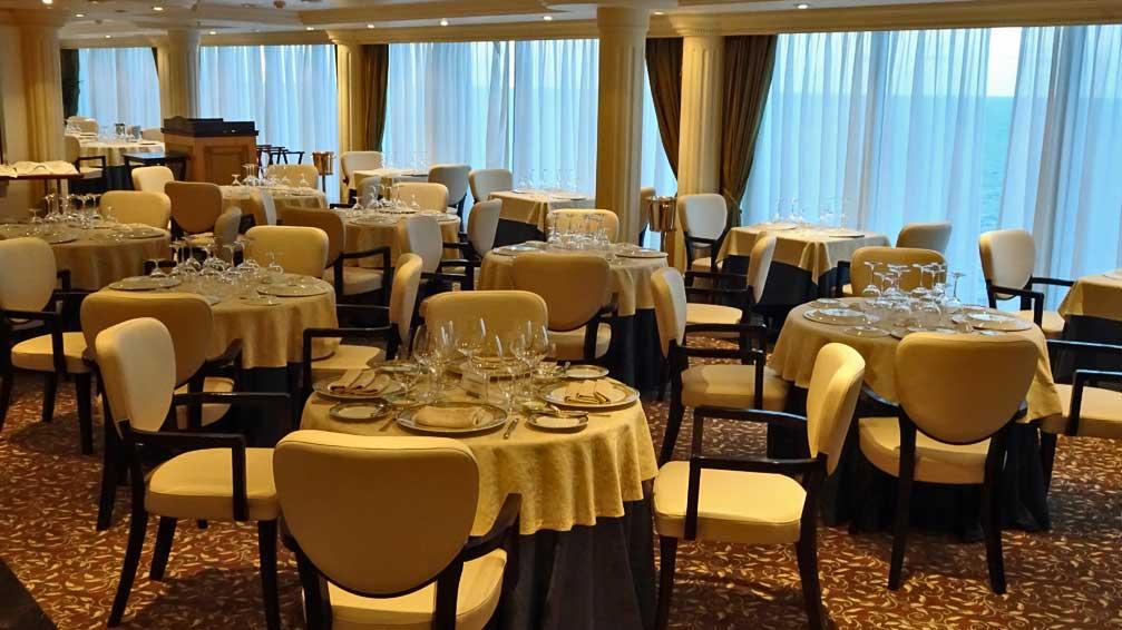 Toscana Specialty Restaurant, Oceania Regatta Review
