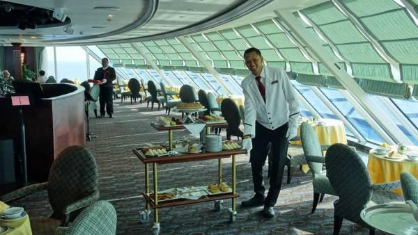 White Glove Service, Afternoon Tea, Oceania Regatta Review