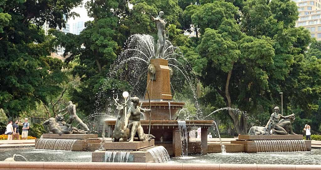 Archibald Fountain, Hyde Park, Sydney Visit