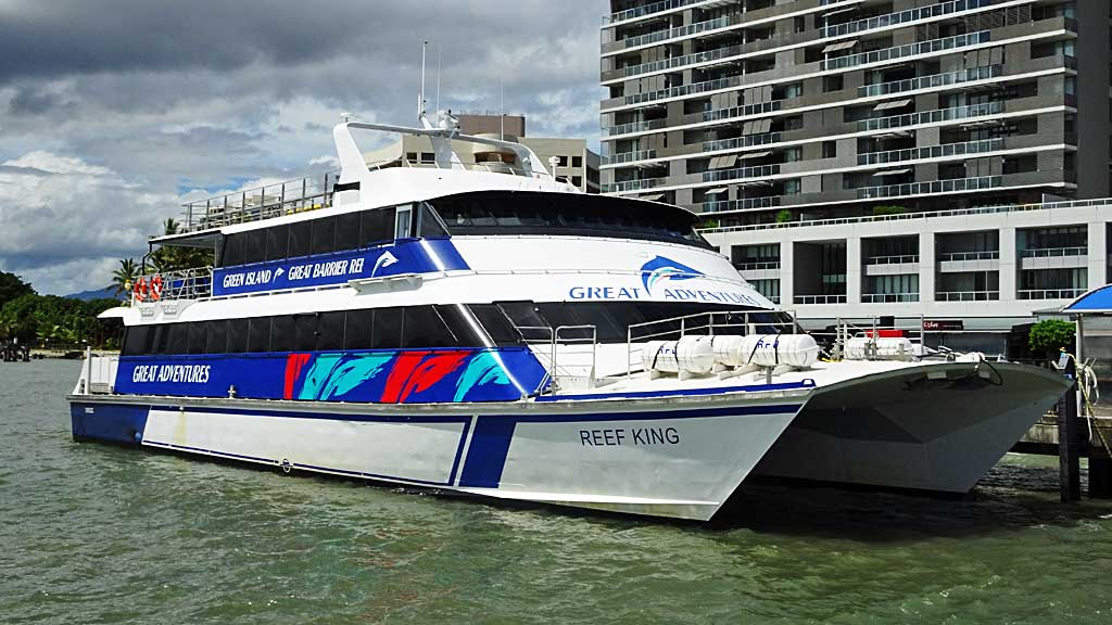 Great Adventures, Airlie Beach, Great Barrier Reef Shore Excursions