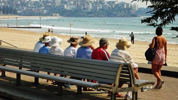 Manly Beach Seniors, Sydney Visit