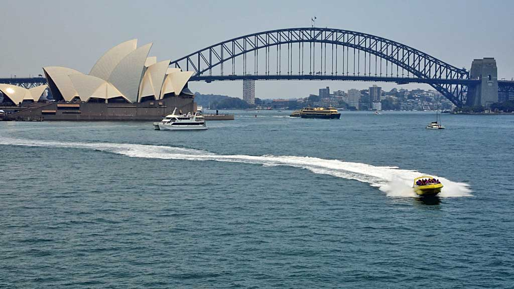 Sydney Opera House, Harbour Bridge, Sydney Visit