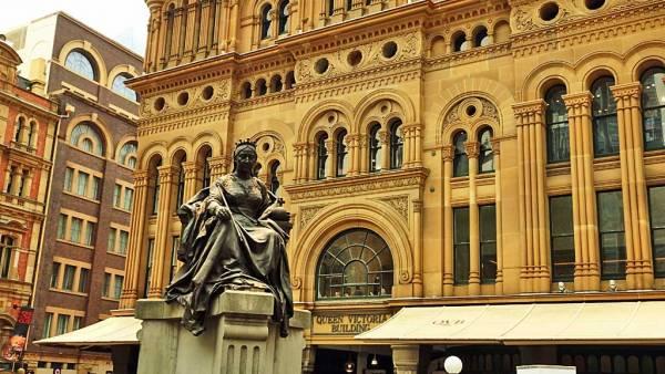 Queen Victoria Building, Sydney Visit
