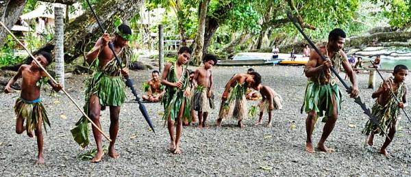 Gopaia Village Greeting, Alotau