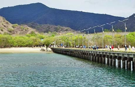 Komodo Island Pier
