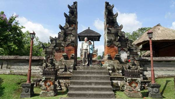 Taman Ayun, Bali, Tim & Viki
